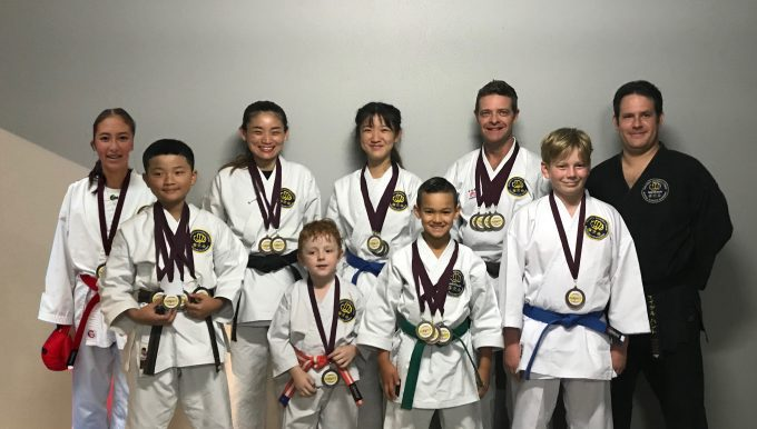 Great results at the QKA Winter Championship